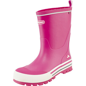 Viking Footwear Jolly Boots Kinder fuchsia/white